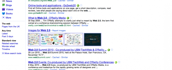 GWAFFTEY — is web 2.0 now just eight things?