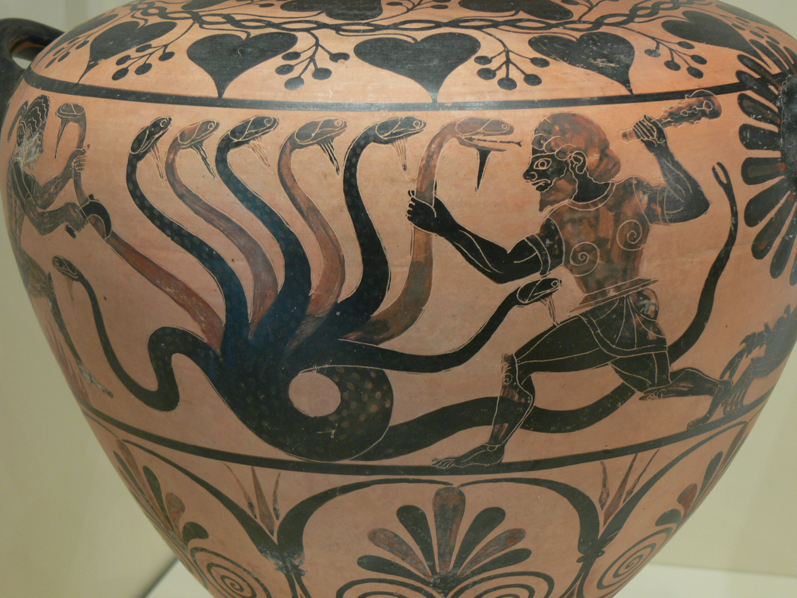 Heracles and the Leonean Hydra