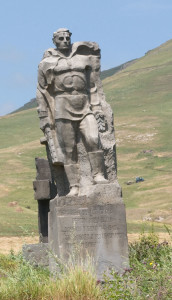 Monument to Soviet soldiers, Armenia