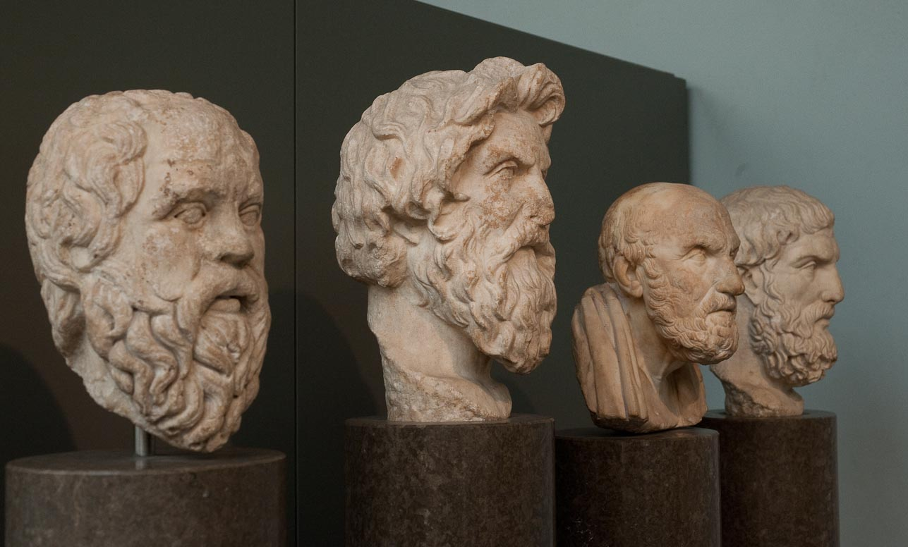Four heads that defined the world